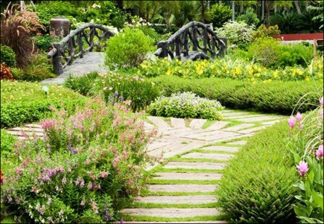 Peartree Bridge garden designed